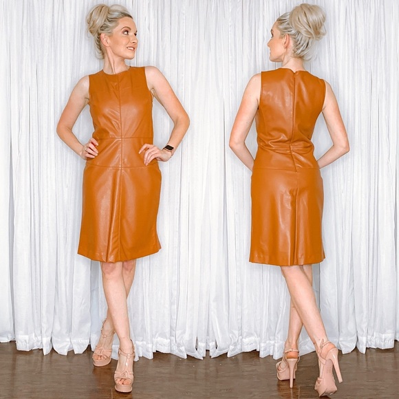 Piperlime Dresses & Skirts - Piperlime Faux Leather PU Mini Dress